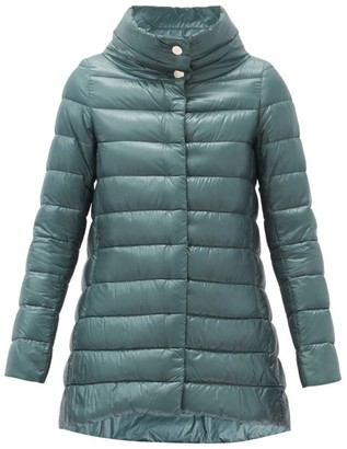 Herno Amelia Quilted Down Jacket - Light Blue