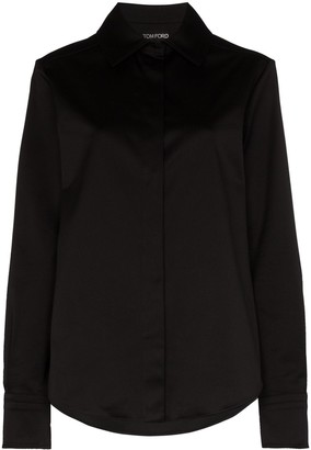Tom Ford Long-Sleeve Button-Up Shirt