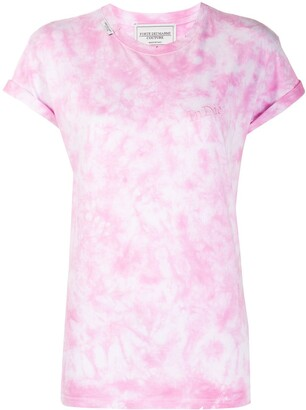 Forte Dei Marmi Couture embroidered tie-dye T-shirt