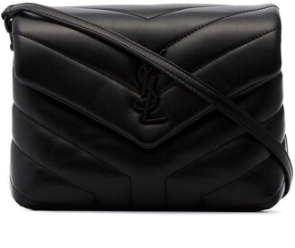 Saint Laurent Toy Loulou quilted shoulder bag