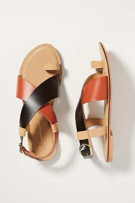Anthropologie Perdita Toe-Loop Sandals By in Assorted Size 6