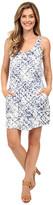 Calvin Klein Jeans Printed Tencel Racerback Dress
