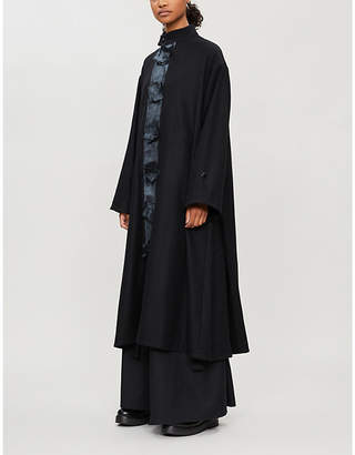 Toogood The Artist high-neck wool coat