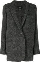 Isabel Marant single button felt jacket