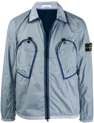 Stone Island Zipped Long-Sleeve Jacket