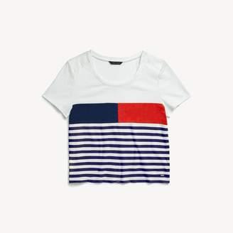 Tommy Hilfiger Flag Stripe T-Shirt