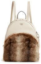 Guess Faux Fur Bradyn Backpack
