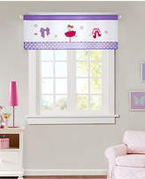 "Mi Zone Kids' Twirling Tutu 50"" x 18"" Applique Valance Bedding"