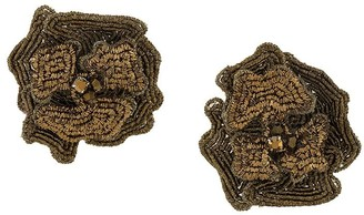 Mignonne Gavigan Embellished Flower Earrings