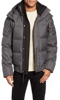 Andrew Marc Coventry Quilted Down Bomber Jacket