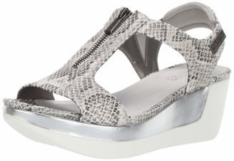 Kenneth Cole Reaction Women's Pepea T-Strap Platform Sandal Wedge