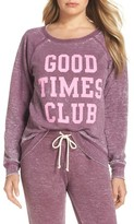 Junk Food Clothing Women's Weekend - Good Times Club Pullover