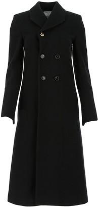 Bottega Veneta Double Breasted Fitted Waist Coat