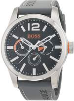 BOSS ORANGE Hugo 1513251 Stainless Steel Case Rubber Mineral Men's Watch