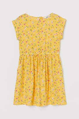 H&M Patterned Dress - Yellow