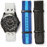 Perry Ellis Casual Black Watch Gift Set