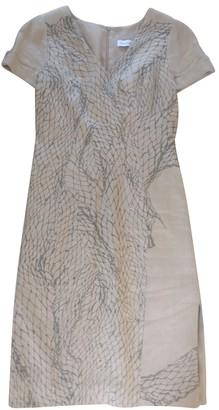 Christian Dior Beige Cotton Dresses