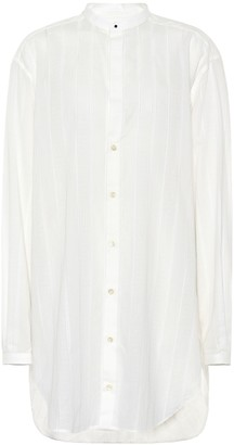 Saint Laurent Oversized cotton shirt