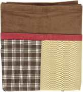 CoCalo Window Valance Buttons, Brown/Blue/Beige