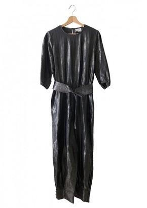 Polder Metallic Cotton Jumpsuit for Women
