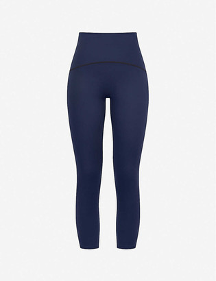 Spanx Active Booty Boost crop high-rise stretch-jersey leggings