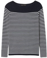 Banana Republic Machine Washable Merino Stripe Boat-Neck