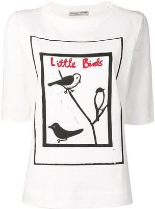 Holland & Holland Little Birds print T-shirt