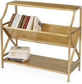 One Kings Lane Sheila Mini Iron Bookcase, Gold