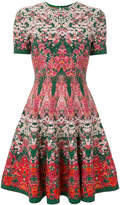 Alexander McQueen floral printed dress