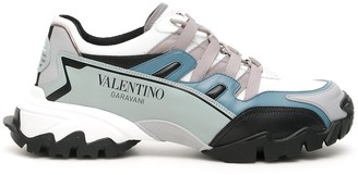 Valentino Climbers Chunky Sole Sneakers