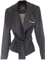 Vivienne Westwood Anthracite Synthetic Jackets