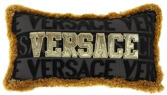 Versace Logomania Cushion (25Cm X 45Cm)