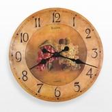 Bulova Whittingham Wood Grapes Wall Clock - C3260