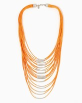 Charming charlie Multi-Strand Statement Necklace