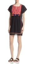 Joie Lucretia Embroidered Tassel Dress