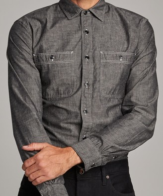 Todd Snyder Japanese Black Chambray Workshirt