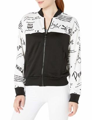 Puma Women's Classics Track Jacket All Over Print