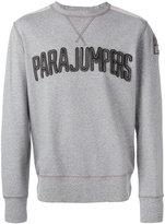 Parajumpers logo patch sweatshirt - men - Cotton - M