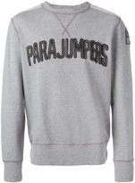 Parajumpers logo patch sweatshirt - men - Cotton - S