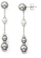 Nadri Soleil Linear Earrings