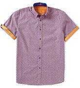 Visconti Printed Short-Sleeve Woven Shirt