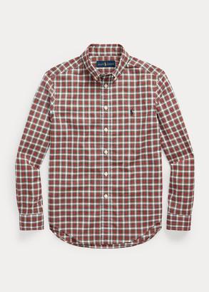 Ralph Lauren Tartan Cotton Poplin Shirt