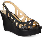 Thalia Sodi Ebbie Platform Wedge Sandals, Only at Macy's