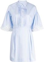 Blumarine striped lace dress