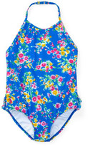 Polo Ralph Lauren Floral One-Piece Swimsuit (2-7 Years)