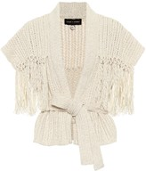 Alanui Exclusive to Mytheresa Tassel-trimmed cotton and wool cardigan