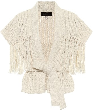 Alanui Exclusive to Mytheresa a Tassel-trimmed cotton and wool cardigan