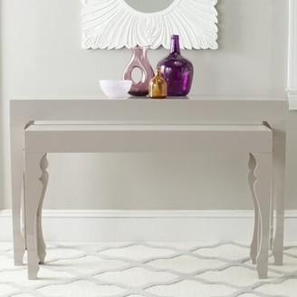 """Safavieh Beth 51"""" Console Table Color: Taupe"""
