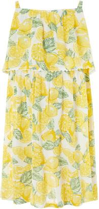 Under Armour Layla Lemon Print Dress Yellow