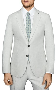 Reiss Well Melange Slim Fit Suit Jacket